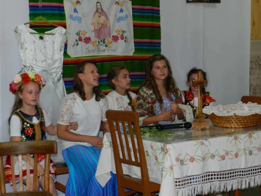 Inscenizacja tradycyjnego wesela podlaskiego w Rzeczycy