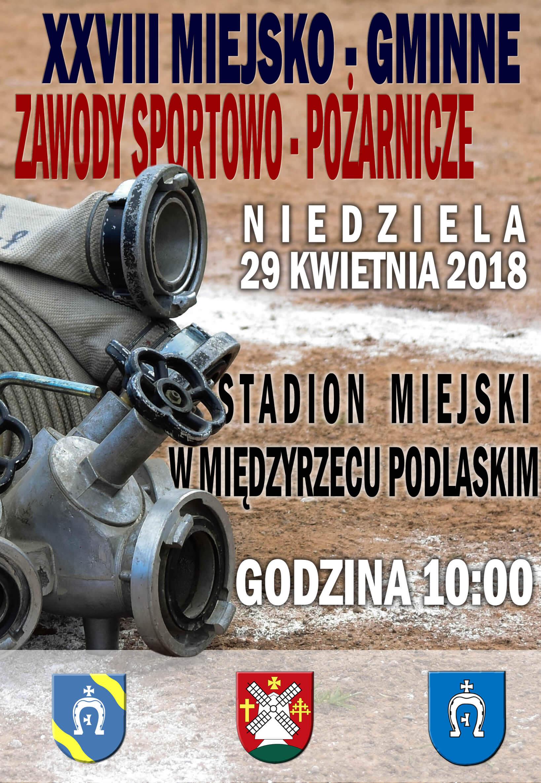 XXVIII Miejsko-Gminne Zawody Sportowo-Pożarnicze